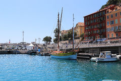 Harbor of Nice Royalty Free Stock Photos