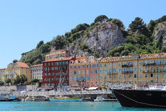 Harbor of Nice Royalty Free Stock Image