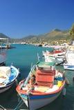 Harbor of Nidri Royalty Free Stock Image