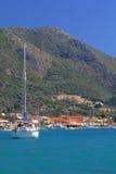 Harbor of Nidri Royalty Free Stock Photography