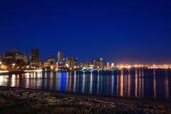 Harbor night Royalty Free Stock Photo