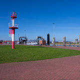 Harbor of norderney (north sea) Royalty Free Stock Photo