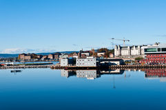 Harbor in Oslo. Not used harbor in Oslo Norway Royalty Free Stock Photography