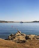 Harbor in Palau. Stock Photo