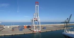 Harbor panorama Stock Photo