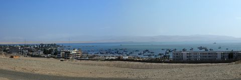 The Harbor of Paracas Royalty Free Stock Image