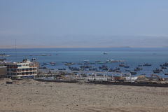 The Harbor of Paracas Royalty Free Stock Photography