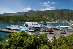 Harbor of Picton Stock Images