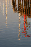 Harbor Pier Reflections Royalty Free Stock Images