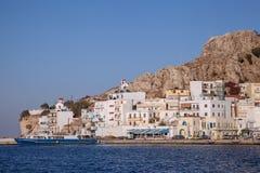 The harbor of Pigadia, Karpathos Royalty Free Stock Photography