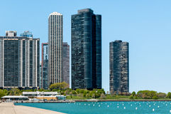 Harbor Point Condominiums, Chicago Royalty Free Stock Image