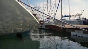 Harbor stock video