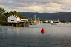 Harbor of Port Douglas Stock Images