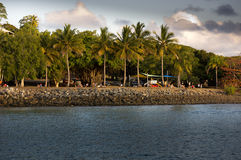 Harbor of Port Douglas Stock Photography