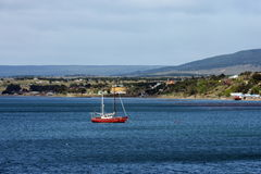In the Harbor of port of Punta Arenas Royalty Free Stock Photography
