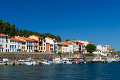 Harbor Port Vendres Stock Photos
