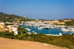 Harbor Porto Cervo, Sardinia Stock Image