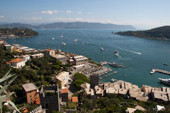 Harbor of Portovenere, Italy Royalty Free Stock Image