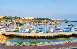 The harbor Royalty Free Stock Photo