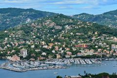 Harbor of Rapallo Royalty Free Stock Images