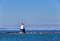 Harbor of Refuge Light Lighthouse in Delaware Bay Royalty Free Stock Photography