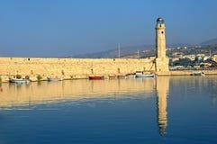 Harbor at Rethymnon Royalty Free Stock Images