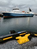 The harbor of Reykjavik Stock Image