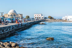 Harbor of Rhodes, Greece Stock Photography