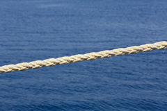 Harbor rope Stock Photography