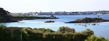 Harbor of Roscoff Stock Photography