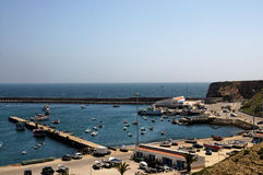 Harbor in Sagres Royalty Free Stock Images