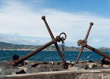 Harbor SAINT TROPEZ, FRANCE Royalty Free Stock Photo
