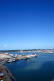 Harbor scenery Stock Photo