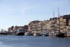Harbor of Sete (Languedoc Roussillon) Stock Image