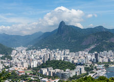 Harbor and skyline of Rio de Janeiro Brazil Royalty Free Stock Photo