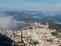 Harbor and skyline of Rio de Janeiro Brazil Stock Photography