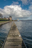 In the harbor. In a small town Veere, Netherlands Stock Photography