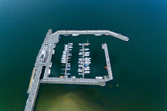 Harbor of Sopot Royalty Free Stock Images