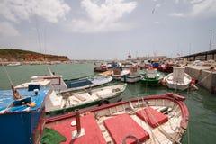 Harbor, Spain Stock Photo
