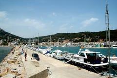 Harbor in Spain Stock Photo