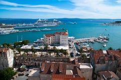 Harbor, Split Croatia Royalty Free Stock Images