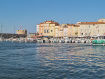 Harbor of St.Tropez, France. Yacht Harbor of St.Tropez, France Stock Photography