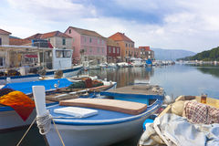 Harbor in Stari Grad Stock Photo
