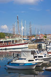Harbor in Stari Grad Stock Images