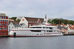In the harbor of Stavanger, Norway. Royalty Free Stock Images