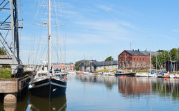 Harbor of Suomenlinna Royalty Free Stock Photo