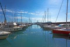 Harbor in Talamone Royalty Free Stock Photography