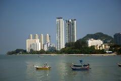 Harbor, Tanjung Bungah, Penang, Malaysia Royalty Free Stock Photos