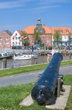 Harbor of Toenning,North Sea,Germany Stock Photo