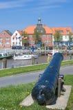 Harbor of Toenning,North Sea,Germany Stock Photo